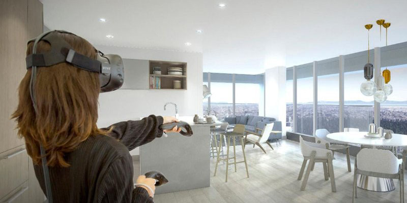 VR Glasses Allow Experiencing Spaces And Furniture In Real Sizes Adopted  Even To The Specific Height Of The User. Therefore, An Authentic Experience  Of ...